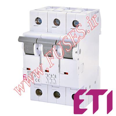 فیوز مینیاتوری ETI سه پل 32 آمپر تایپ C