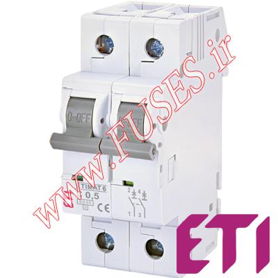 فیوز مینیاتوری ETI دو پل 16 آمپر تایپ C